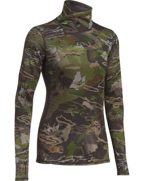 Under Armour Women's Camo Mid-Season Reversible Shirt, Camouflage, hi-res