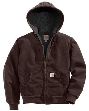 Carhartt Active Quilted Jacket, Brown, hi-res