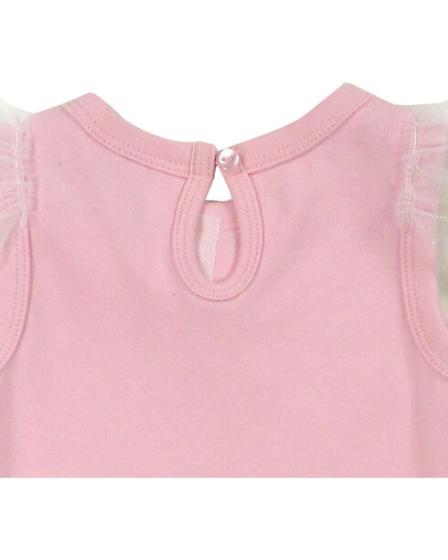 Shyanne Infant Girls' Bow and Tutu Onesie , Pink, hi-res