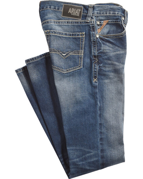 Ariat Men's M5 Colby Slim Fit Jeans - Straight Leg, , hi-res