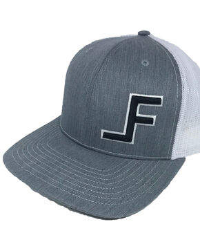 Lane Frost Wreck Logo Ball Cap , Grey, hi-res