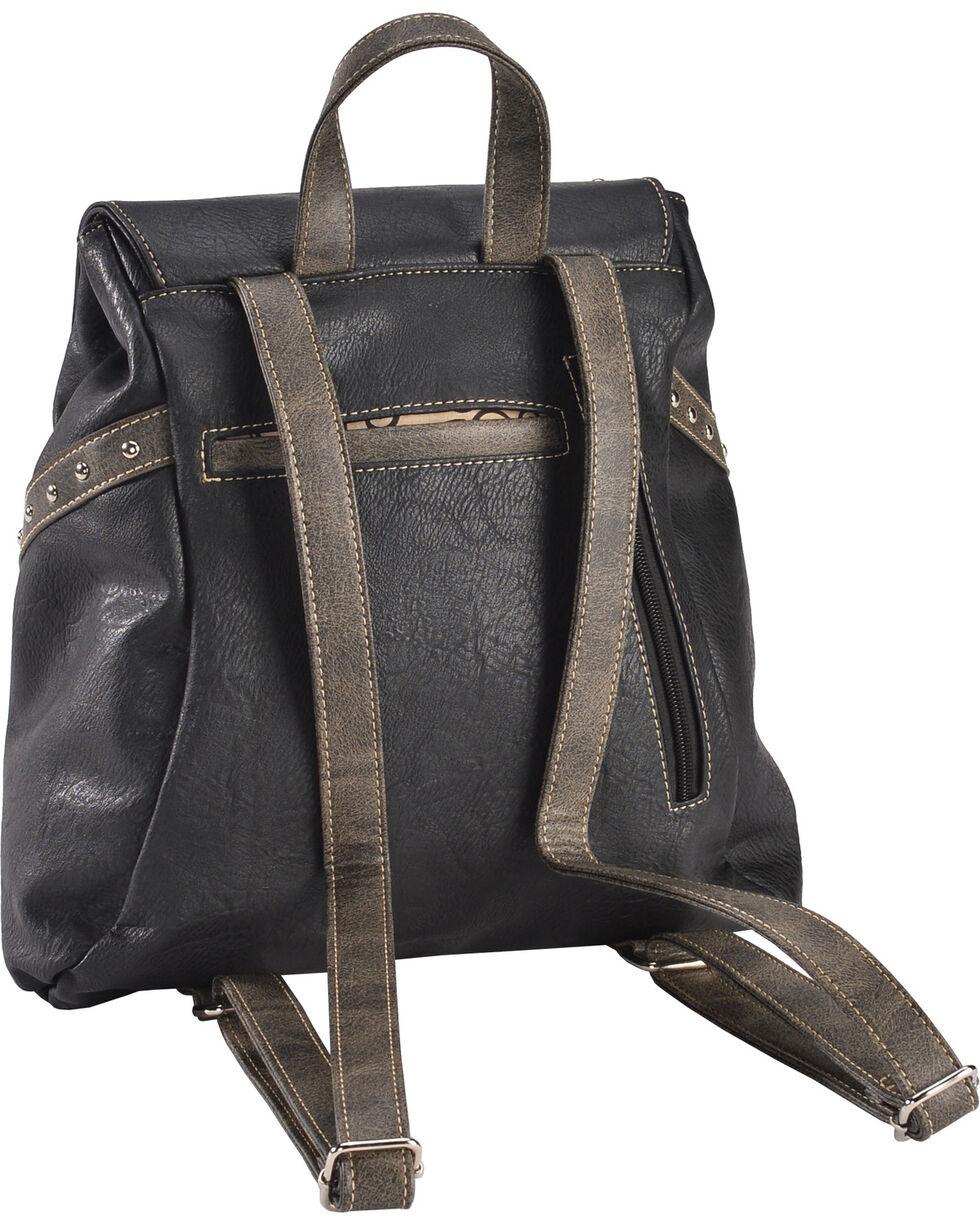 Wear N.E. Wear Women's Bling Cross Western Backpack, Black, hi-res