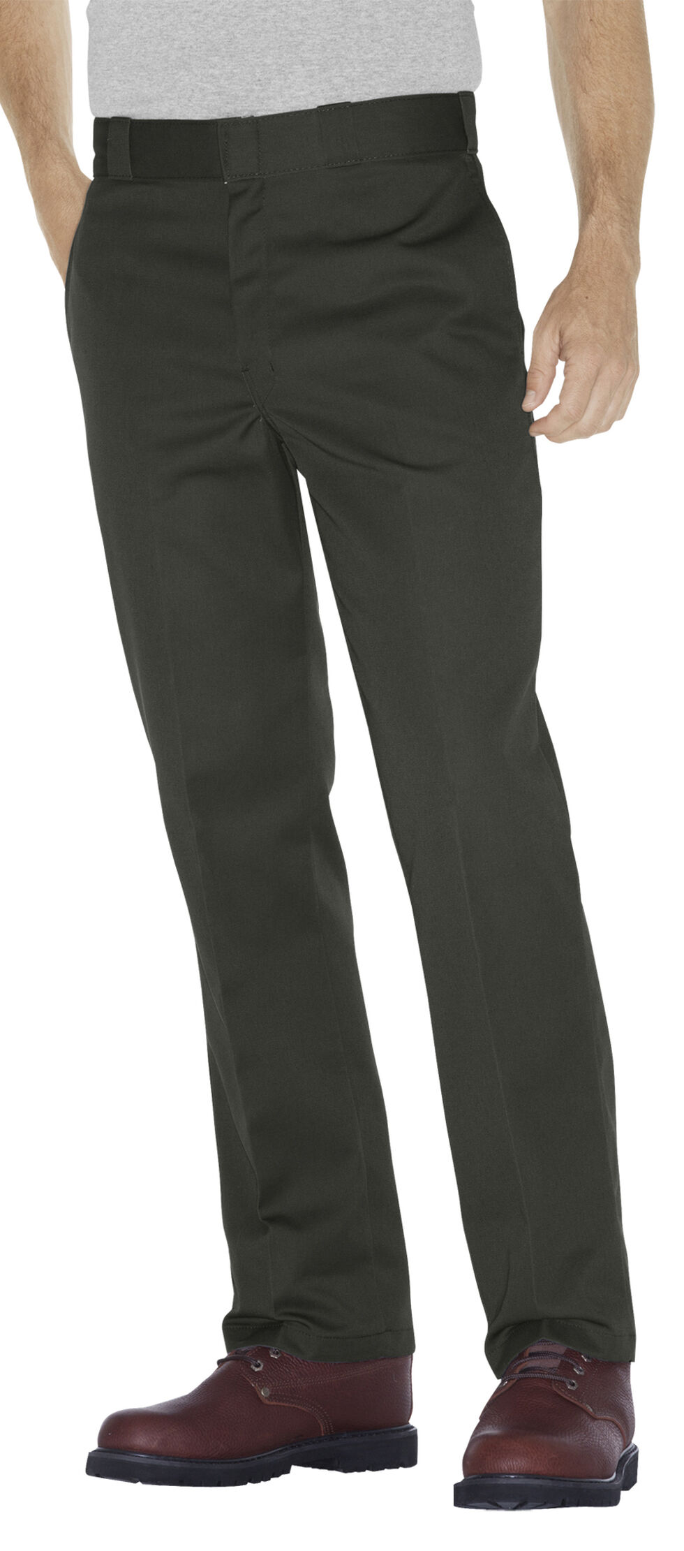 Dickies Men's Original 874® Olive Work Pants - Big & Tall, Olive Green, hi-res