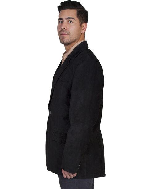 Scully Boar Suede Black Blazer - Big, Black, hi-res