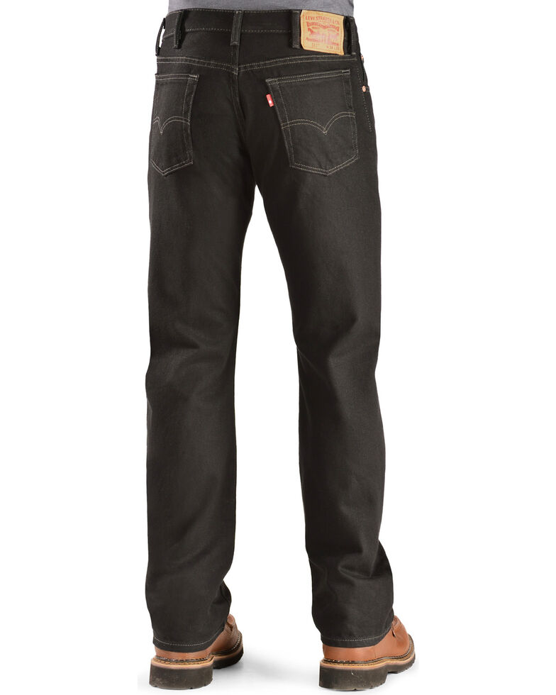 Levi's  517 Jeans - Prewashed Boot Cut, Black, hi-res
