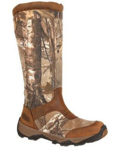 Rocky Men's Retraction Snake Proof Outdoor Boots - Soft Toe, Camouflage, hi-res