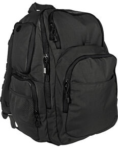 Tru-Spec Men's Stealth XL 39 Liter Nylon Backback, Black, hi-res