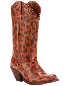 Ariat Women's Leopard Larue Western Boots - Narrow Square Toe , Leopard, hi-res
