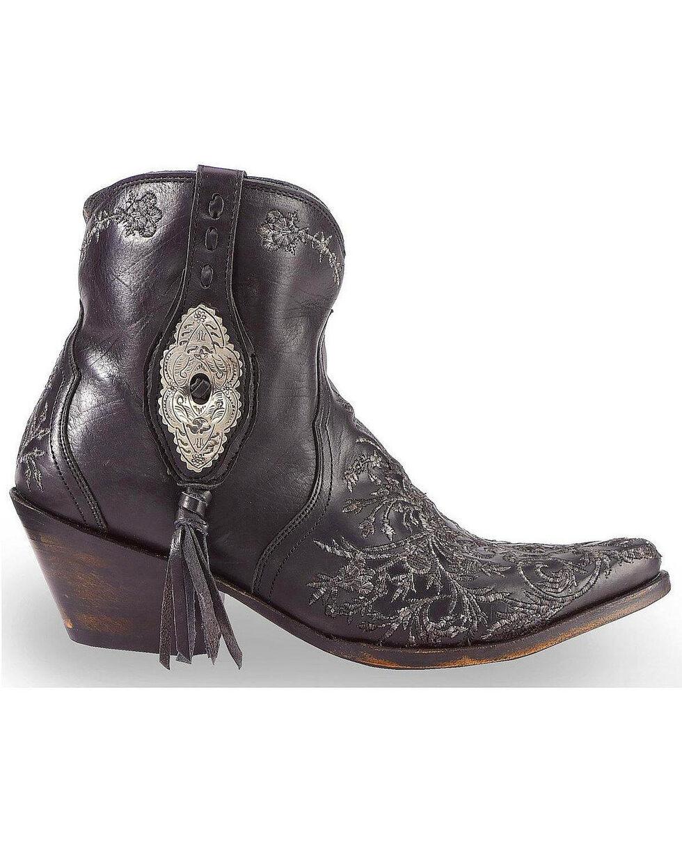 Liberty Black Women's Black Wrangler Boots - Pointed Toe , Black, hi-res