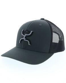 2d855ad31 HOOey Mens Sterling Logo Ball Cap , Grey, hi-res