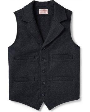Filson Men's Wool Western Vest, Charcoal, hi-res