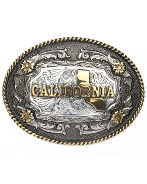 Cody James California Republic Belt Buckle, Multi, hi-res