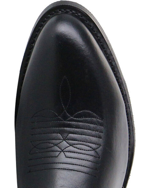 Cody James Men's Classic Black Embroidered Western Boots - Medium Toe, Black, hi-res