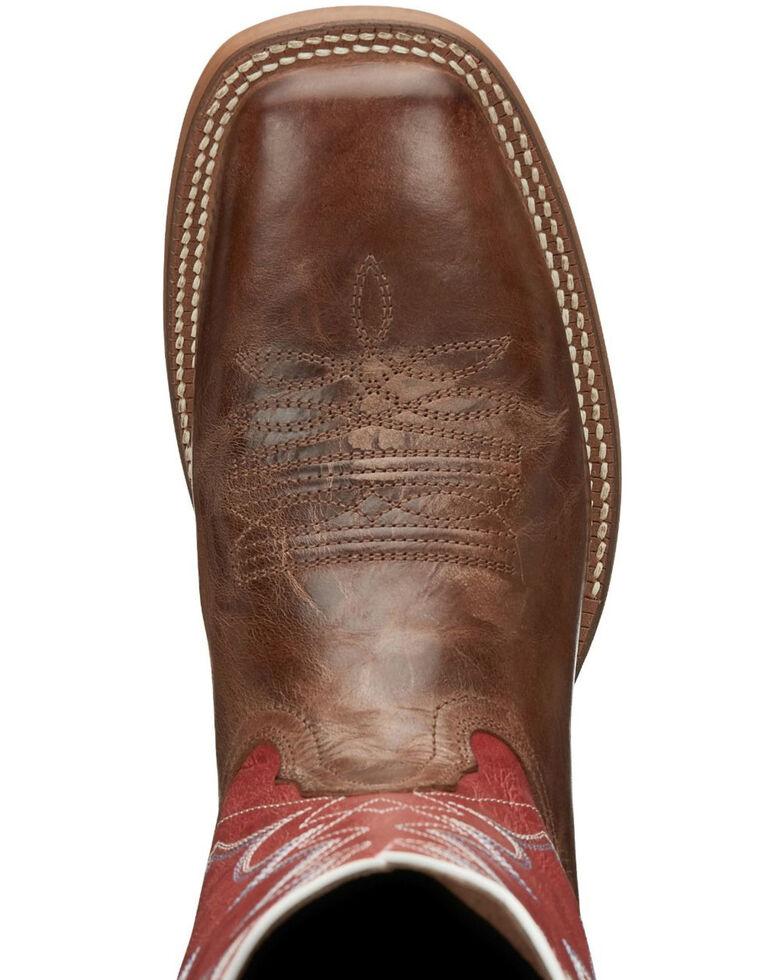 Nocona Men's Cohan Tan Western Boots - Square Toe, Brown, hi-res