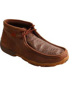 250811079ad7 Twisted X Womens Brown Driving Moc Shoes - Moc Toe , Brown, hi-res