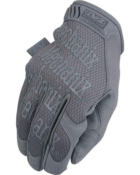Mechanix Wear Original Wolf Grey Gloves , Grey, hi-res