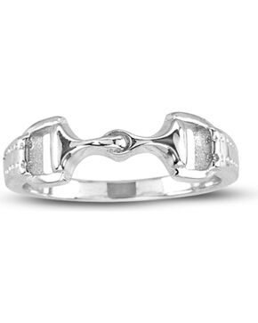 Kelly Herd Sterling Silver Snaffle Bit Ring, Silver, hi-res