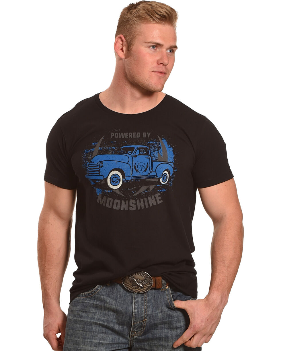 Moonshine Spirit Men's Powered by Moonshine T-Shirt, , hi-res