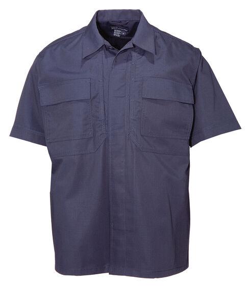5.11 Tactical Taclite TDU Short Sleeve Shirt - Tall Sizes (2XT - 5XT), Navy, hi-res