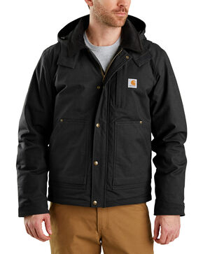 Carhartt Men's Full Swing Steel Jacket - Big & Tall , Black, hi-res