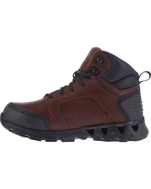 "Reebok Men's Athletic 6"" Hiker Boots with Met Guard - Carbon Toe, Brown, hi-res"