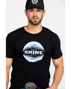 a4c44b3966 Moonshine Spirit Men's Moon Landing Graphic T-Shirt