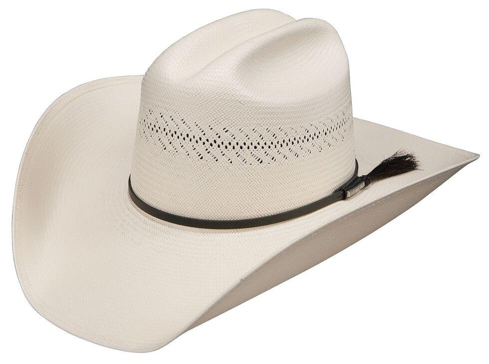 Stetson Rankin Dri-Lex 8X Shantung Straw Cowboy Hat, Natural, hi-res