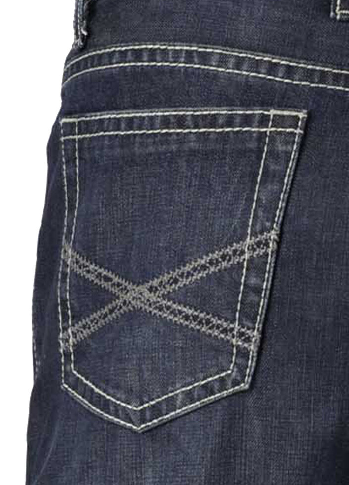 Stetson 1520 Classic Fit With Embroidery Jeans - Boot Cut, Denim, hi-res