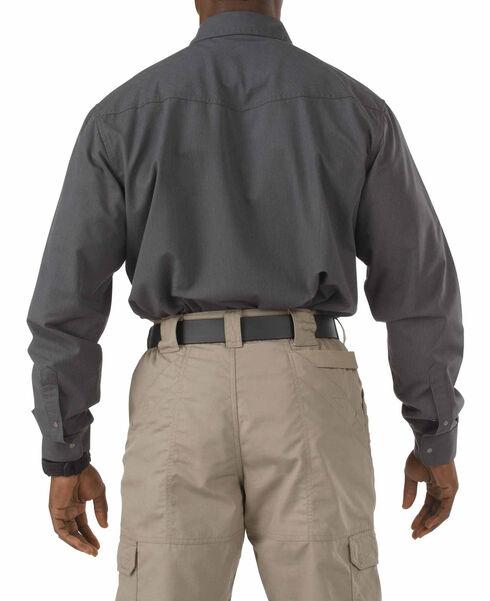 5.11 Tactical Covert Herringbone Shirt, Navy, hi-res