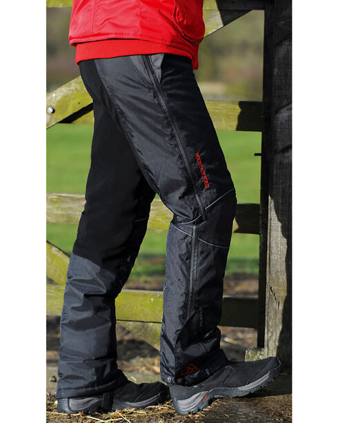 Mountain Horse Polar Unisex Breeches, Black, hi-res