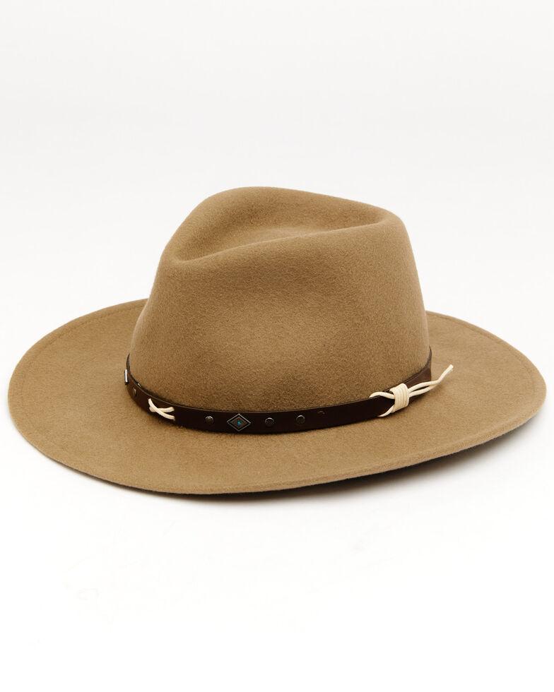 Cody James Men's Trec Mushroom Western Wool Hat , Mushroom, hi-res