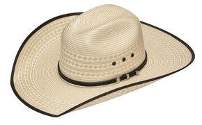 Twister 20X Shantung Bonanza Straw Cowboy Hat, Tan, hi-res