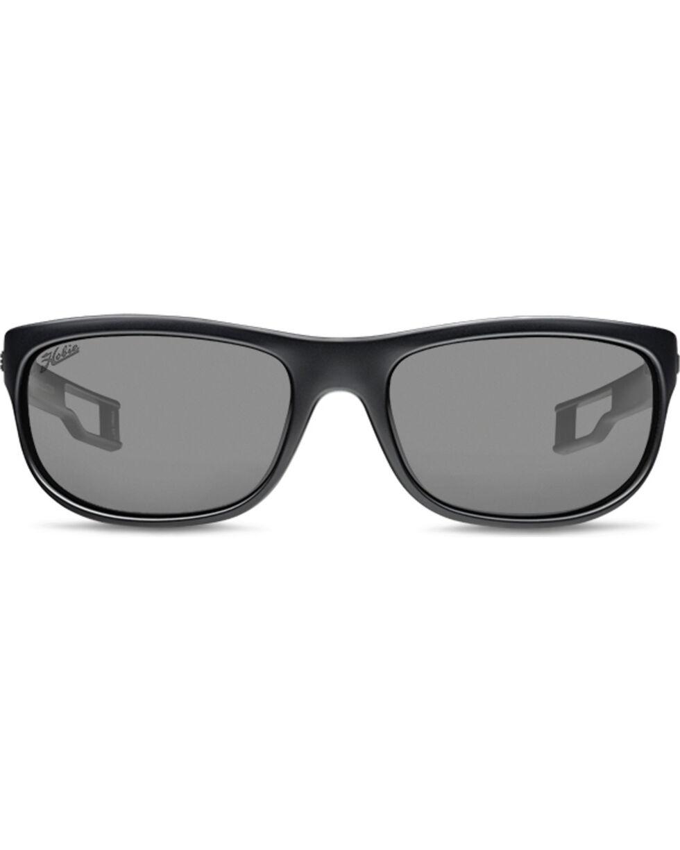 Hobie Men's Grey and Satin Black Cruz-R Polarized Sunglasses , Black, hi-res