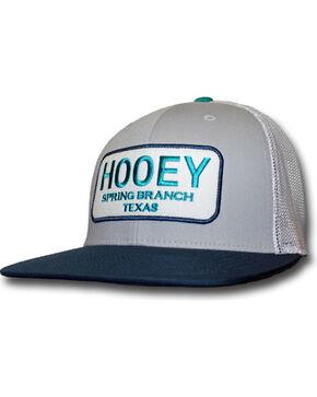 HOOey Men's Hometown Snapback Trucker Cap, Grey, hi-res