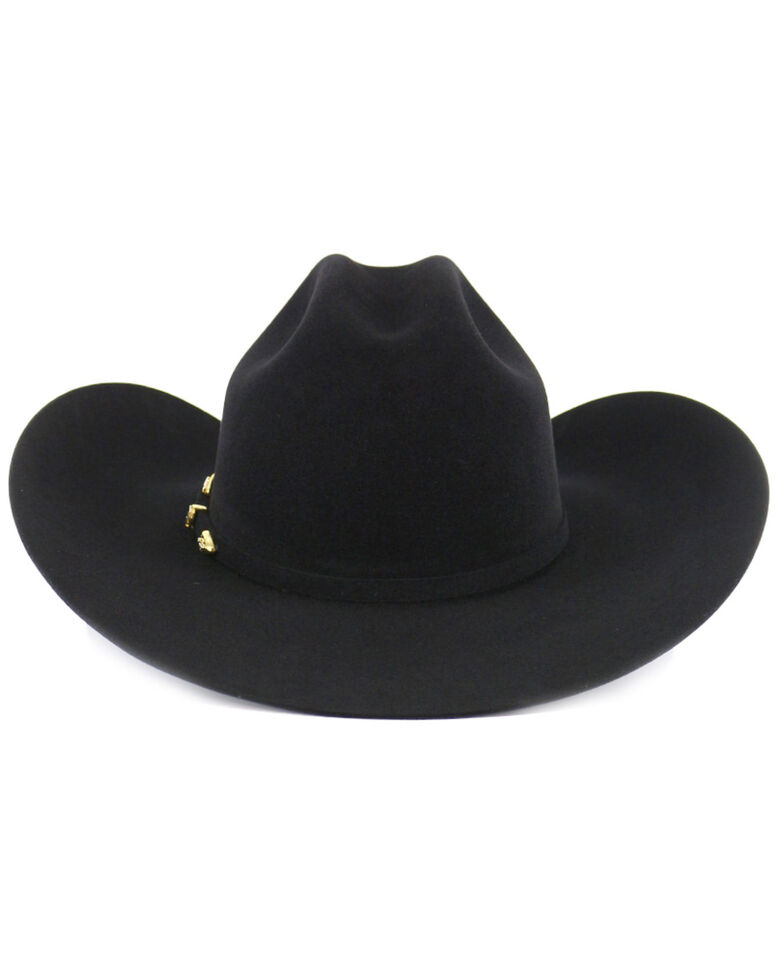 Cody James 10X Black Fur Felt Cowboy Hat, Black, hi-res