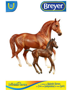 Breyer Kids' Smooth Rider Horse & Foal, No Color, hi-res