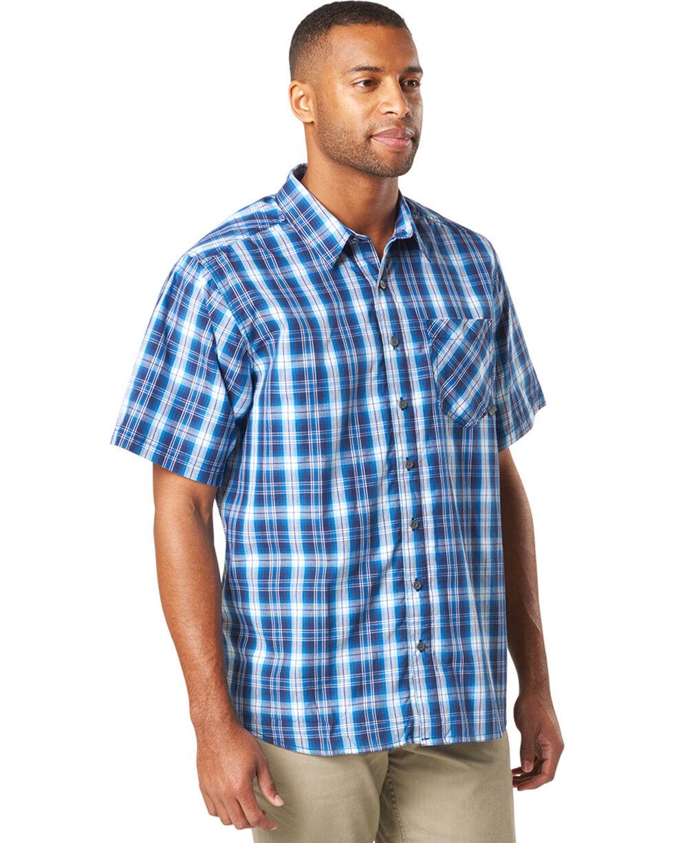 5.11 Tactical Men's Blue Breaker Short Sleeve Shirt , , hi-res