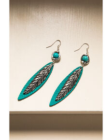 Idyllwind Women's Light As A Feather Turquoise Earrings, Turquoise, hi-res
