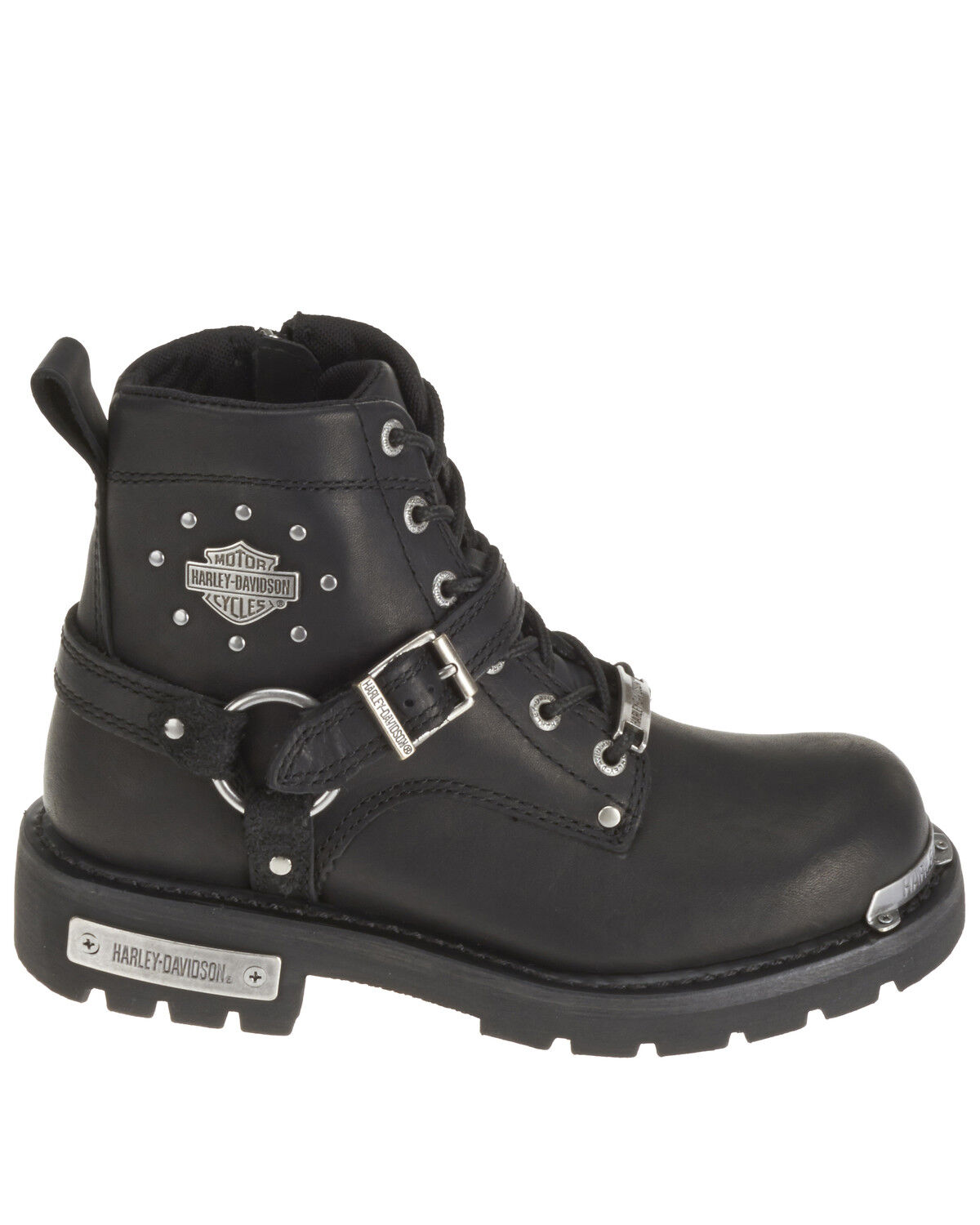 Becky Moto Boots - Round Toe