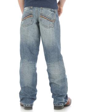 Wrangler Boys' Indigo (8-18) 20X No.33 Relaxed Fit Jeans - Husky, Indigo, hi-res