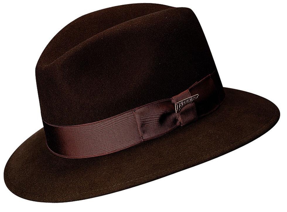 e74036619be2d Scala Men s Brown Wool Felt Safari Hat