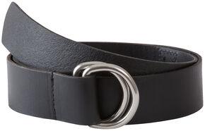 Mountain Khakis Men's Black D-Ring Belt, Black, hi-res