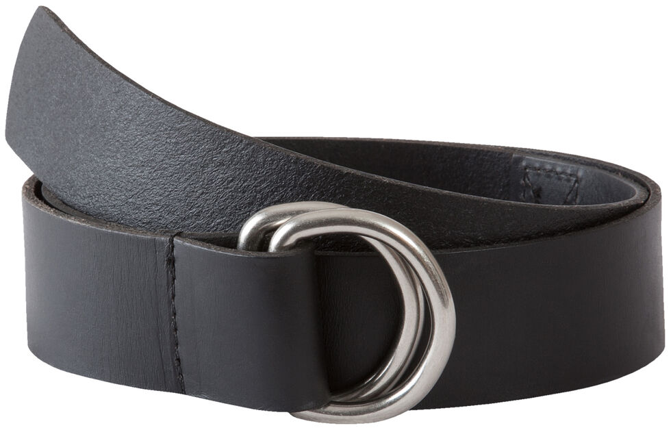 Mountain Khakis Men's Black D-Ring Belt, Black, hi-res