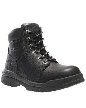"Wolverine Men's Marquette Slip Resistant 6"" Work Boots , Brown, hi-res"