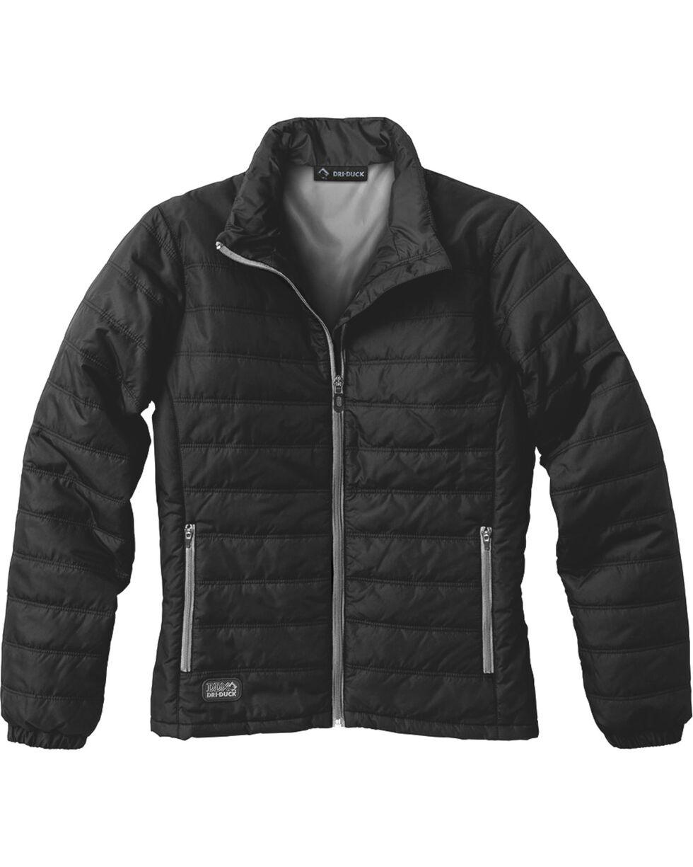 Dri Duck Women's Belay Therma Puff Jacket, Black, hi-res