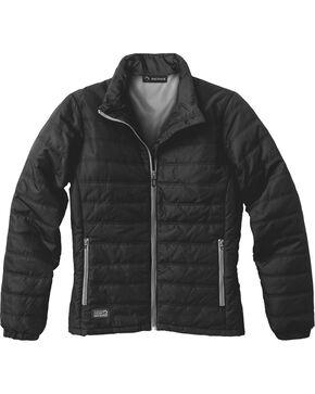 Dri Duck Women's Belay Therma Puff Jacket - Plus, Black, hi-res