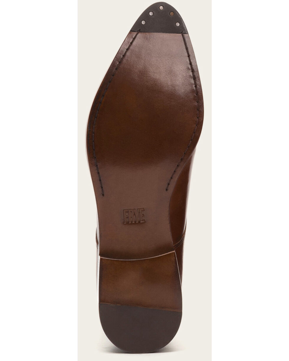 Frye Women's Whiskey Erica Oxford Shoes - Pointed Toe , Dark Brown, hi-res