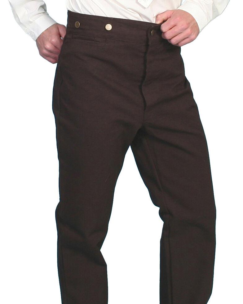 Scully Rangewear Men's Canvas Pants - Big & Tall, Walnut, hi-res
