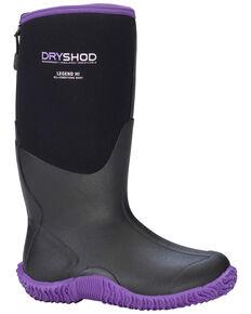 Dryshod Women's Legend Adventure Boots, Black, hi-res