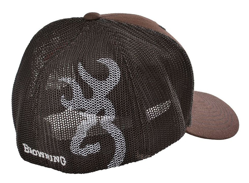 Browning Buckmark Logo Flex Fit Cap - L XL  899bf053e3b